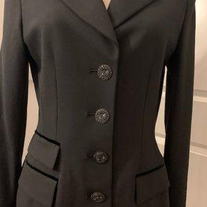 GRIFFITH GRAY FOR ST.JOHN Black jacket coat - sz 6